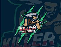 Killer instinct. Logo concept.