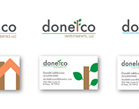 Donelco Logos and Business Cards