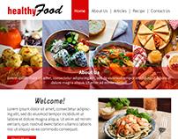 Healthy Food - UI/UX