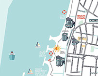 in progress herzliya tourist map