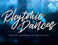 Rhytmic Dances - Handwritten Fonts