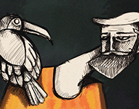 Guy with Bird