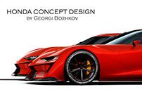 Honda Prelude/Sparrow Vision GT Concepts