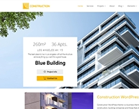 Construction WordPress Theme - Banner Slider