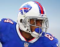 Antonio Brown Buffalo Bills swap