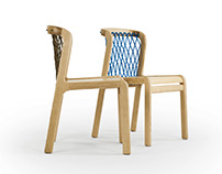 NET - wooden chair