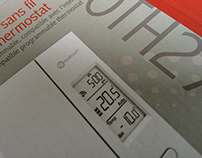 Emballage thermostat sans fil