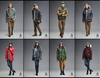WOODS Arctic Apparel Campaign