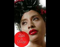 lips a glaze