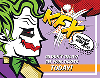 KFX Pop Art Poster Set
