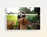 Creating a Yoga Retreats Brand - Design & Development +