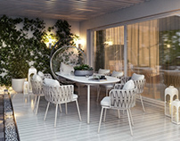 V-Ray Renderings for A Charming Residential Design