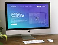 Bureau – A Free Agency Website Template PSD