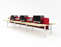 SLIMLINE workstation system