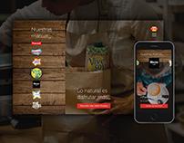 Calidad Pascual Website