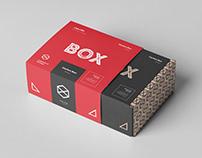 Carton Box Mock-up 95x85x42 & Wrapper