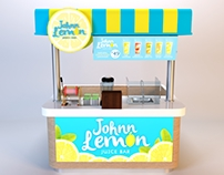Johnn Lemon Cart for Fruitas Group of Companies