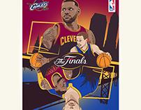 The NBA Finals Cavaliers/Warriors
