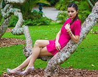 Botanical Garden shoot with Sandra Olga