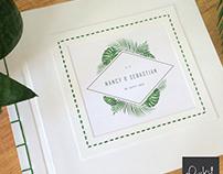 Libro de Firmas /// Wedding Guest Book
