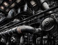 Silo City - Ward Pumping Station, Buffalo, N.Y