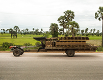 Tractors, Cambodia