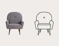 Oppa - Furniture Icons