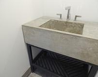 Lavamanos de concreto - Rancho Abasolo