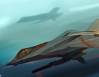 VF-24 Fighter Jet Concept