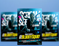 Scream Seekers Flyer Template