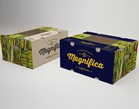 Magnifica Fruits box design
