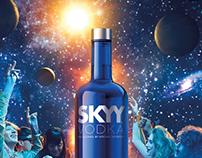 SKYY Vodka - Discover the SKYY - Print