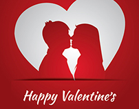 Free Vectors: Love and Valentine's Day Backgrounds