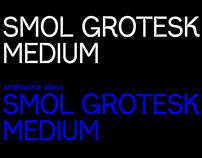 smol grotesk typeface