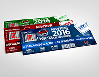 Concert Tickets - New Year 2016 Celebrations!!