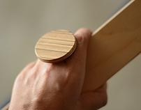 Minimal Wooden Ring