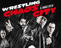 GWF : Chaos City Official Poster Artwork