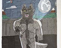 Werewolf on a Dam