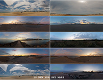 10 NEW HDR SKY MAPS