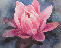 WATER LILY (art in process)