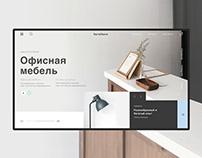 Office furniture. Website