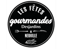 ( Creation de Logo ) Fetes Gourmandes de Neuville