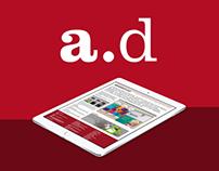 Acumen Design Expression Engine website