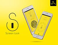 Screen Lock App UI/UX - Jensonart