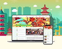 CICAF Website design