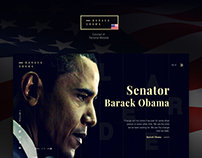 Barack Obama Personal Website
