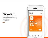 App of the day - Sky Alert