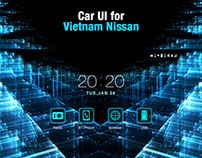 Car UI for Vietnam Nissan
