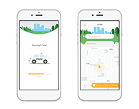 Bonny's Taxi App Redesign
