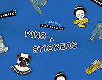 Backstage Pins & Stickers